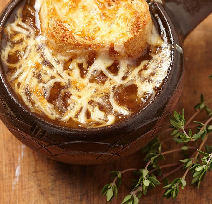 سوپ پیاز | onion soup