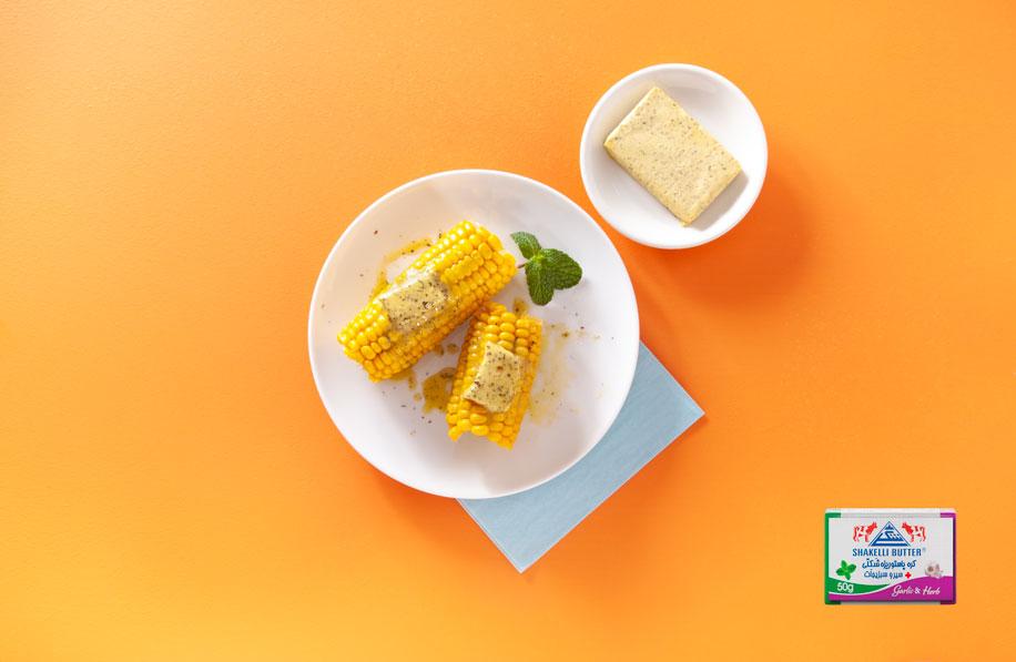کره سیر و سبزیجات