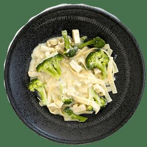 پنه آلفردو و سبزیجات