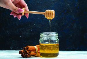 ماسک عسل دارچین   Cinnamon honey mask