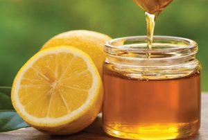 ماسک عسل لیمو   Honey and lemon
