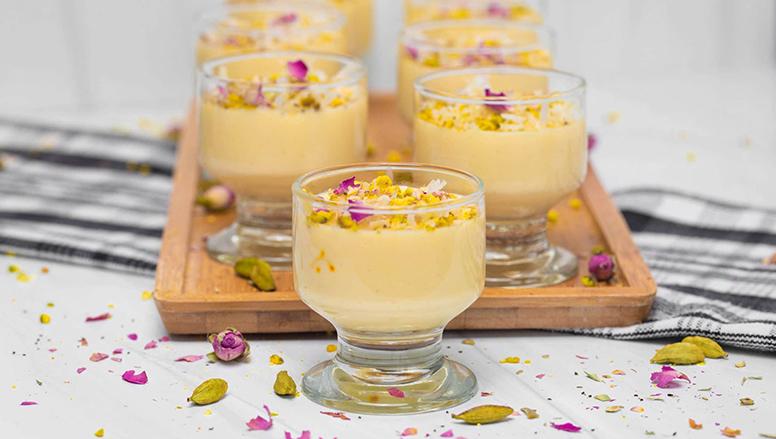 دسر کاراملی ساگو | Sagu Caramel Dessert