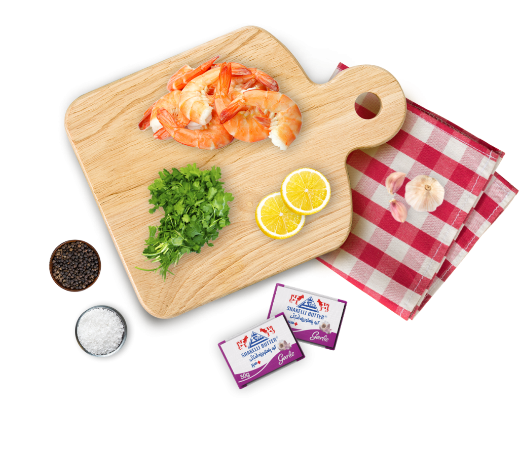خوراک میگو    shrimp dish