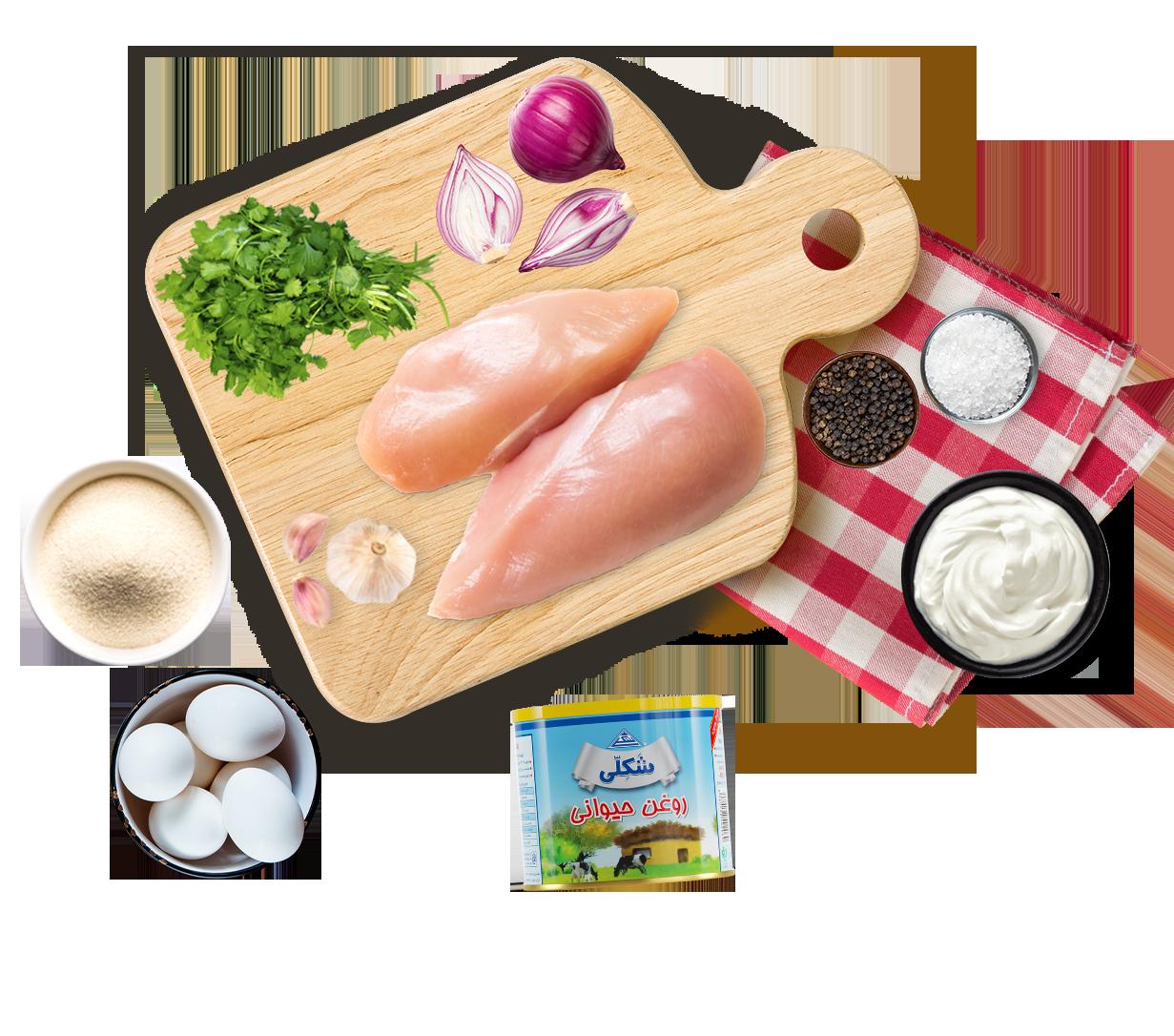 Potato and chicken fried balls   توپک سوخاری سیب زمینی و مرغ
