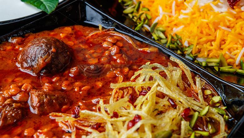 خورشت قیمه نذری | gheimeh stew
