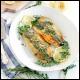 کامباین گارلیک سَمِن | garlic salmon combine